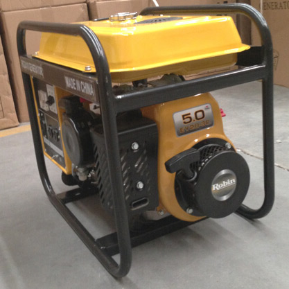 Gasoline generator 2400W (GX2410 ) with robin gasoline engine 5HP ( EY20) for light construction machinery